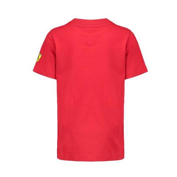 Maglietta Scuderia Ferrari Car Kids