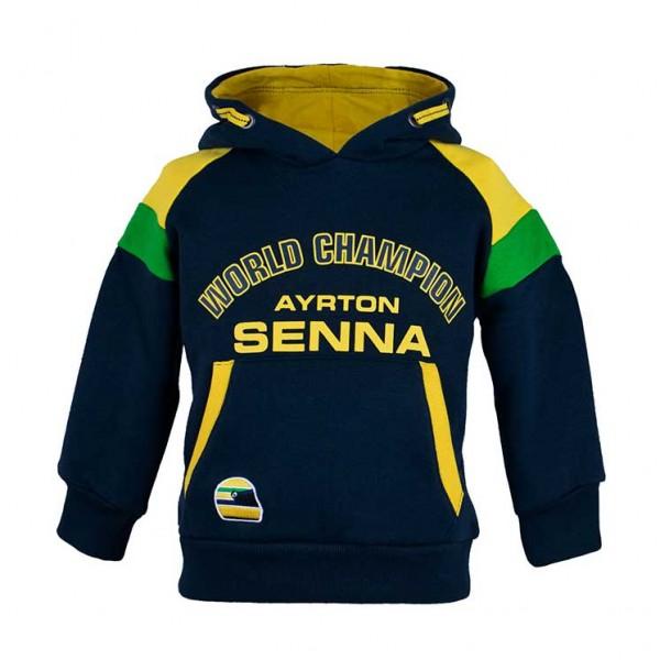Ayrton Senna Hoodie Racing Kids