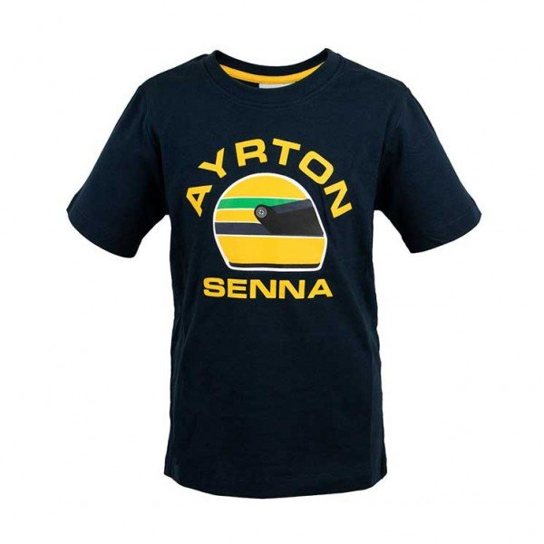 Ayrton Senna T-Shirt Racing Kids