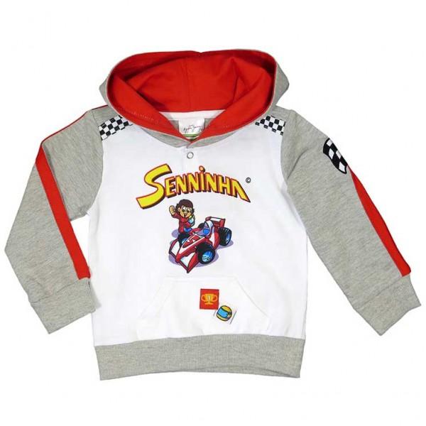 Ayrton Senna Hoodie Senninha Kids