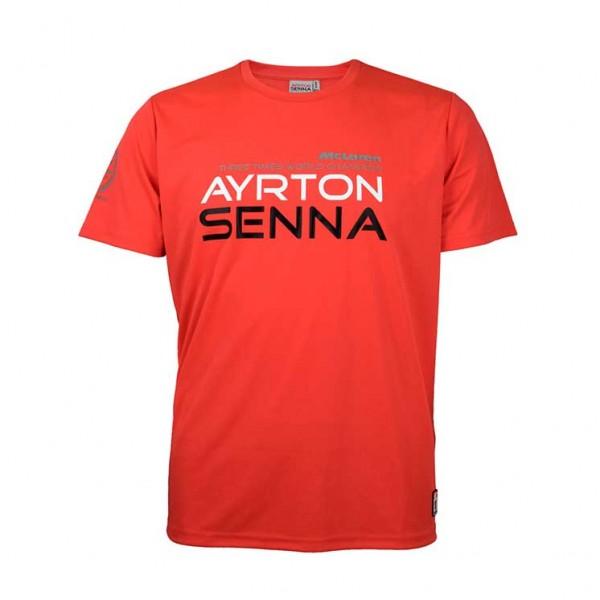 Ayrton Senna T-Shirt McLaren Kids