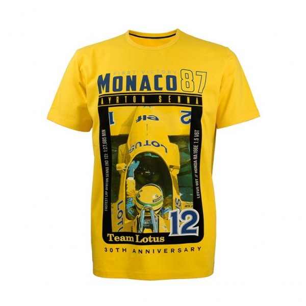 Ayrton Senna Kinder T-Shirt 1st Victory 1987