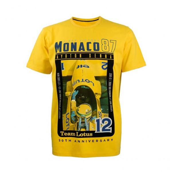 Ayrton Senna T-Shirt Enfant Première Victoire 1987