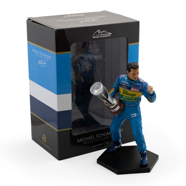 Michael Schumacher Figure Second F1 World Championship 1995 1/10