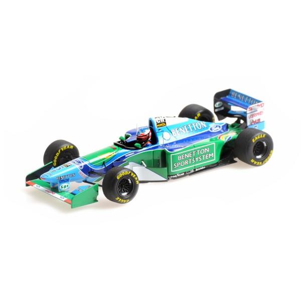 Michael Schumacher Benetton B194 #5 Ganador del GP de Canadá Campeón del Mundo de F1 1994 1/43