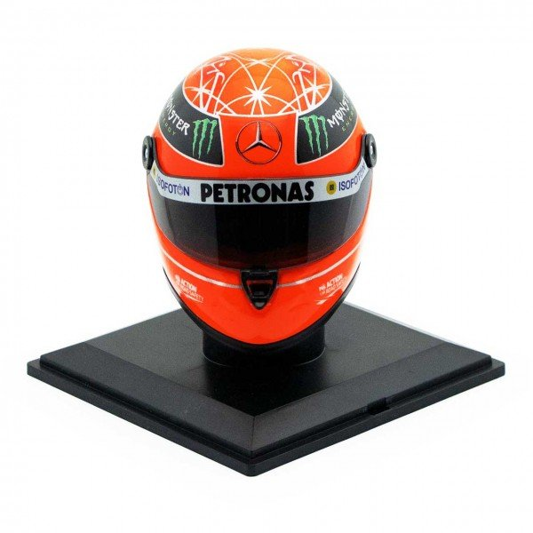Michael Schumacher Final Helm GP Formel 1 2012 1:4
