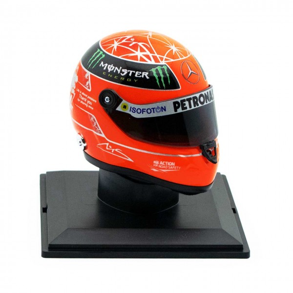 Michael Schumacher Final Helmet GP Formel 1 2012 1/4