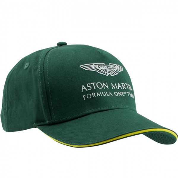 Aston Martin F1 Official Team Cap green