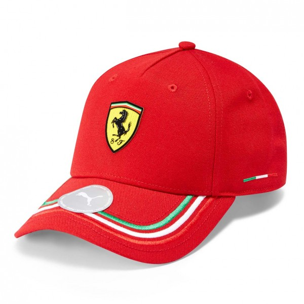 Scuderia Ferrari Casquette Italien rouge