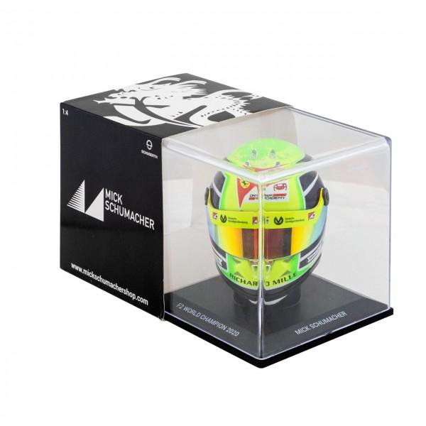Mick Schumacher casco in miniatura 2020 1/4