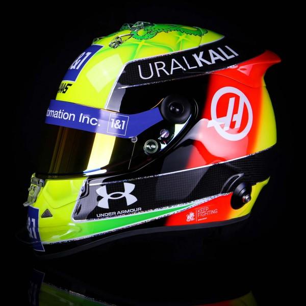 Mick Schumacher Replica Helmet 1/1 2021
