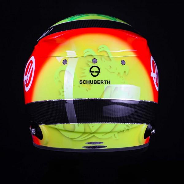 Réplique Casque de Mick Schumacher 1/1 2021