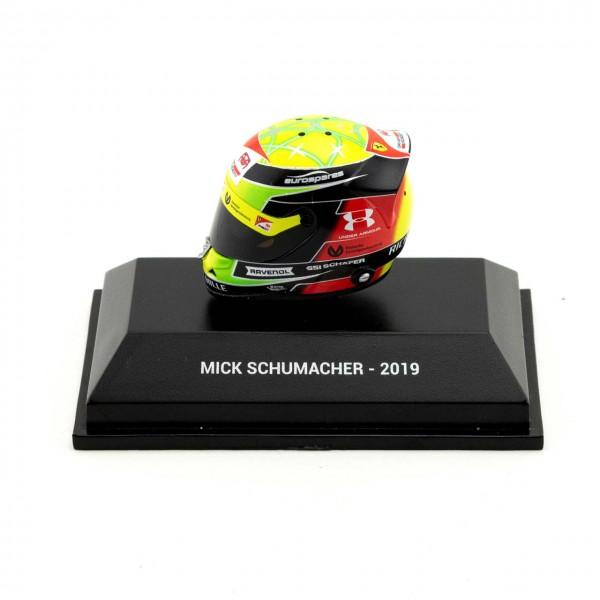 Mick Schumacher Miniaturhelm 2019 1:8