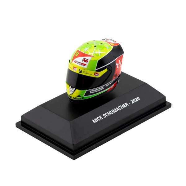 Mick Schumacher casco miniatura 2020 1/8