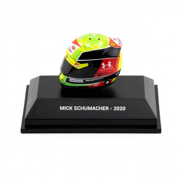 Mick Schumacher Casque miniature 2020 1/8