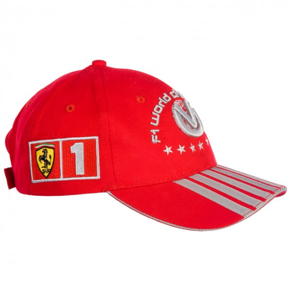 7 Times World Champion Michael Schumacher Kids Cap left