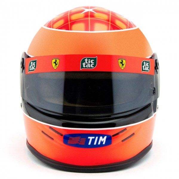 Michael Schumacher Helm Ferrari F1 Weltmeister 2000 1:2