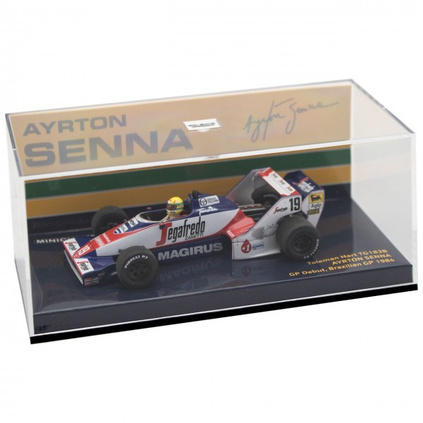 Ayrton Senna Toleman TG183B #19 Brésil GP Formule 1 1984 1/43