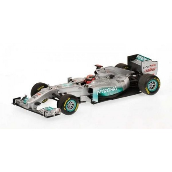 Michael Schumacher Mercedes GP F1 2011 Showcar 1:43
