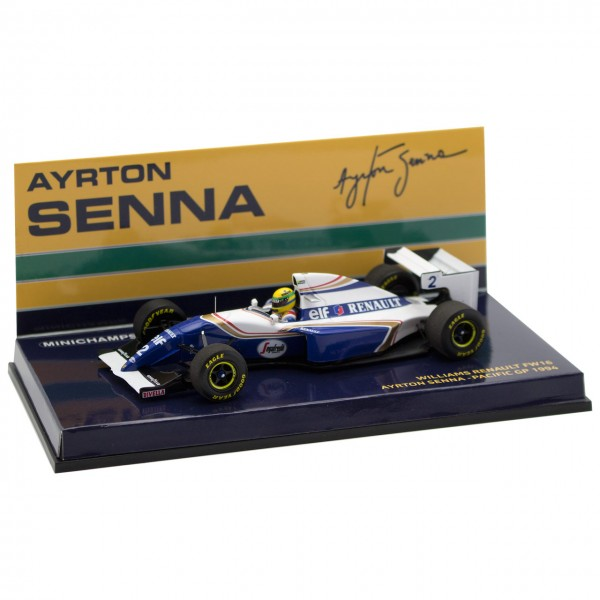 Ayrton Senna Williams Renault FW 16 Pacific GP 1994 1/43
