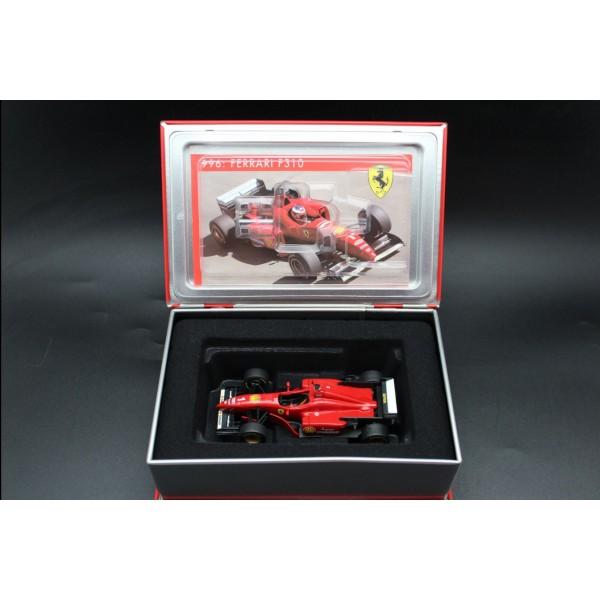 Michael Schumacher Ferrari F310 Vainqueur Espagne GP Formule 1 1996 1/43