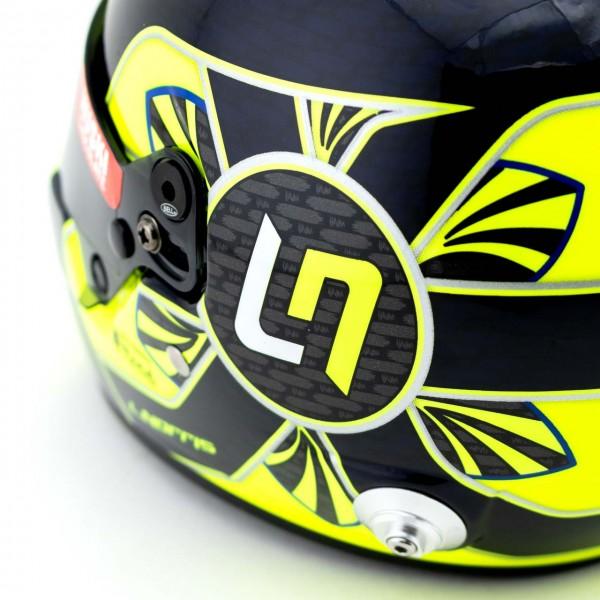 Lando Norris miniature helmet Formula 1 2021 1/2