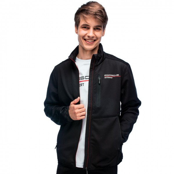 Porsche Motorsport Softshell Jacket black