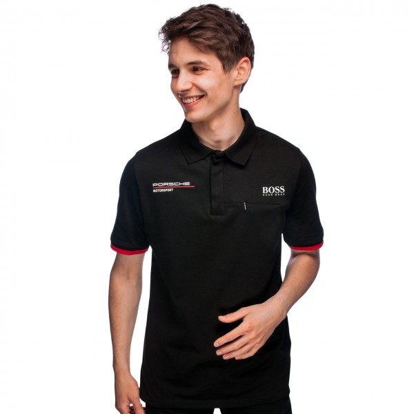 Porsche Motorsport Team Polo shirt black