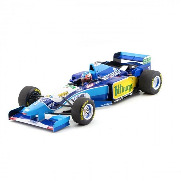 Michael Schumacher Benetton Renault B195 Campeón del mundo 1995 1/18