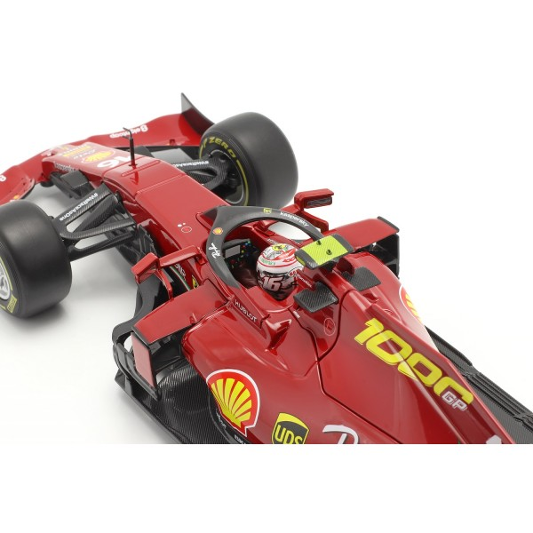 Charles Leclerc Ferrari SF1000 #16 1000th Ferrari GP Tuscany GP F1 2020 1/18