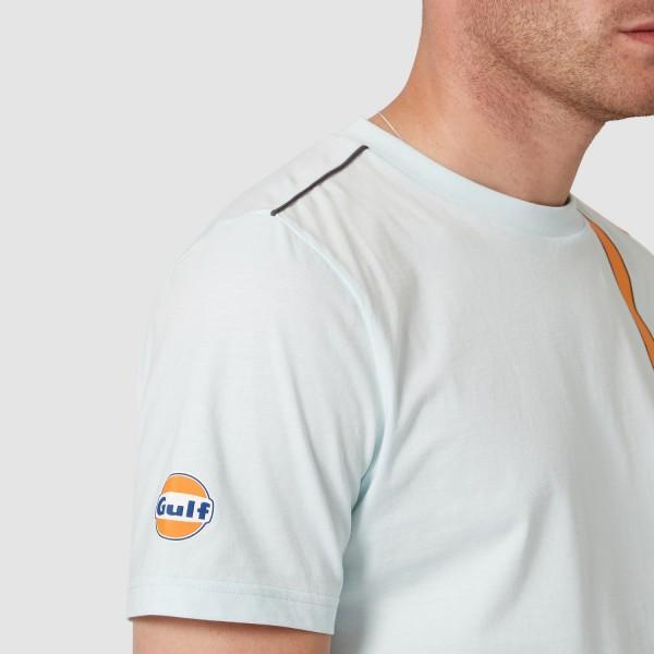McLaren Gulf T-Shirt Racing Stripe blue