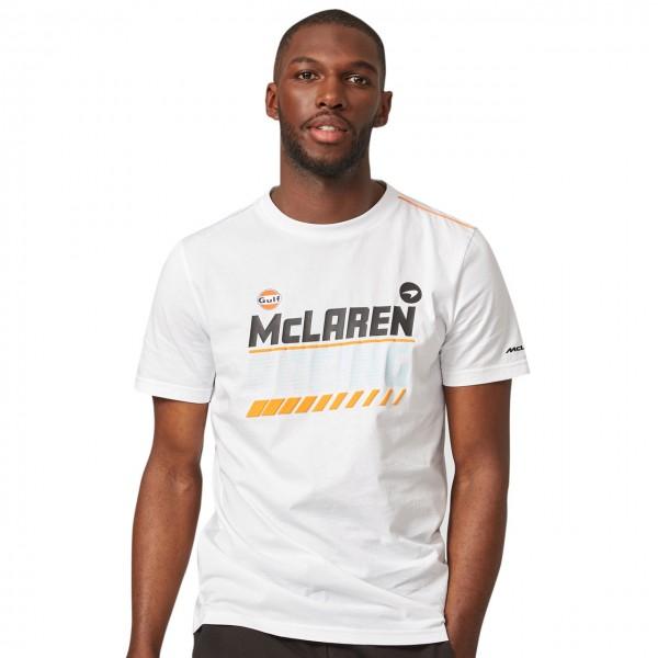 McLaren Gulf Graphic T-Shirt white