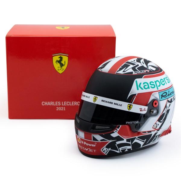 Charles Leclerc miniature helmet Formula 1 2021 1/2
