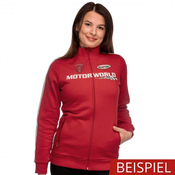 Motorworld Ladies Sweat Jacket Pitlane