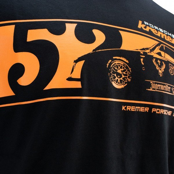 Kremer Racing T-Shirt Jäger Porsche 935 K3 black