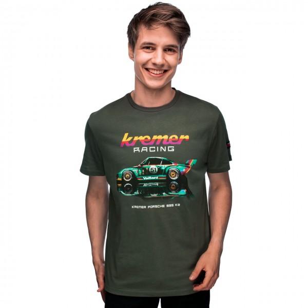 Kremer Racing T-Shirt Porsche 935 K2 Olive-green
