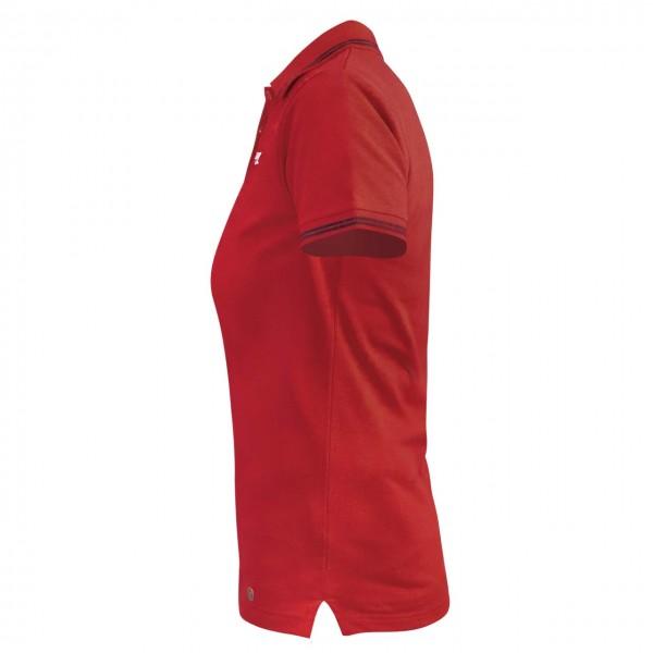 Motorworld Ladies Polo Shirt Chequered Flag