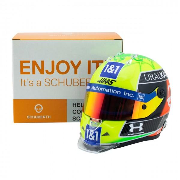 Mick Schumacher Miniaturhelm 2021 1:2