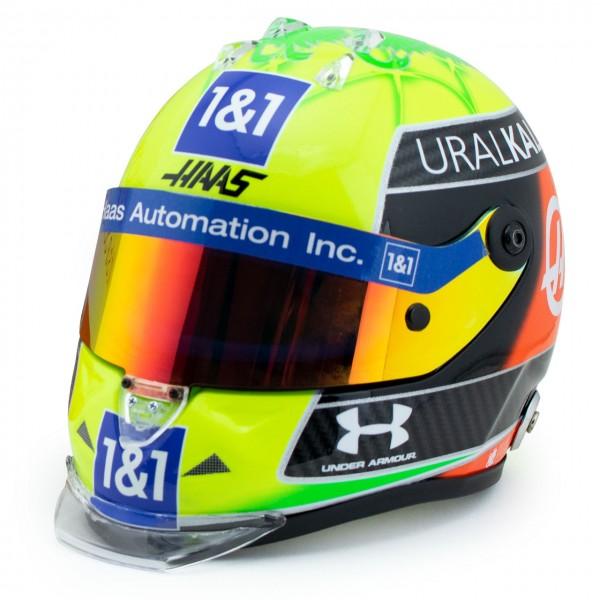 Mick Schumacher casco miniatura 2021 1/2