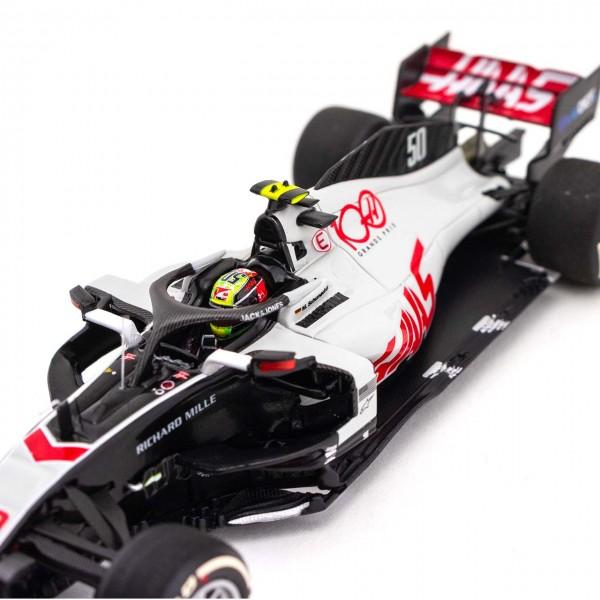 Mick Schumacher Haas F1 Team Testfahrt Abu Dhabi 2020 1:43