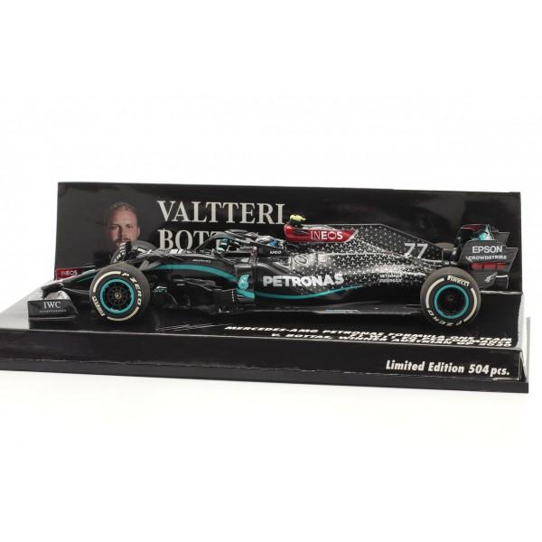 Mercedes-AMG Petronas F1 Team W11 EQ Performance - Valtteri Bottas - Winner Austrian GP 2020 1/43