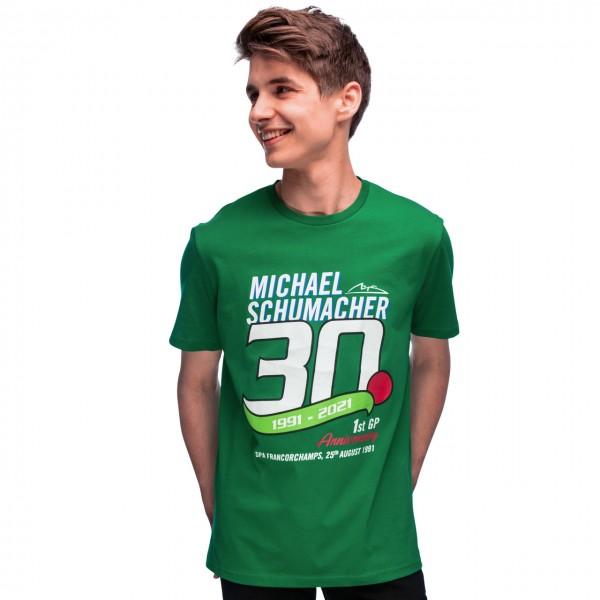 Michael Schumacher Camiseta Primera Carrera del GP 1991