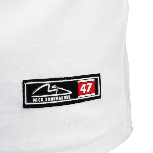 Mick Schumacher Camiseta Speed Logo blanco
