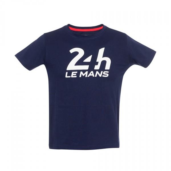 24h Race Le Mans Kids T-Shirt Logo