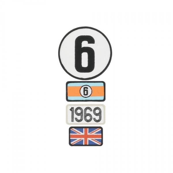 24h Race Le Mans Badge Legends 1969