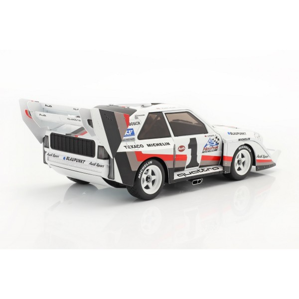 Audi Sport Quattro S1 E2 #1 Winner Pikes Peak 1987 Walter Röhrl 1/18