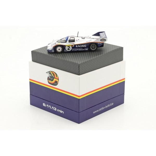 Porsche 956K #2 record lap 1000km Nürburgring 1983 Bellof, Bell 1/43