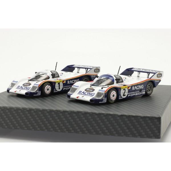 Porsche 956K #1 & #2 Double Set 1000km Nürburgring 1983 1/43
