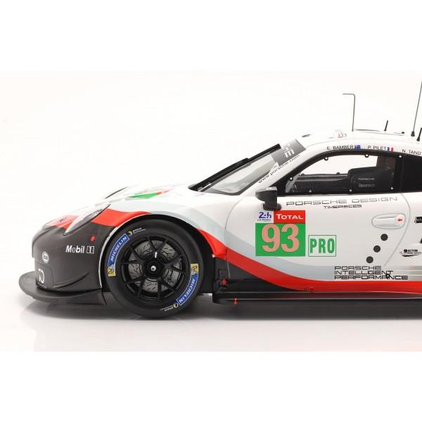 Porsche 911 (991) RSR #93 24h LeMans 2018 Pilet, Tandy, Bamber 1/18