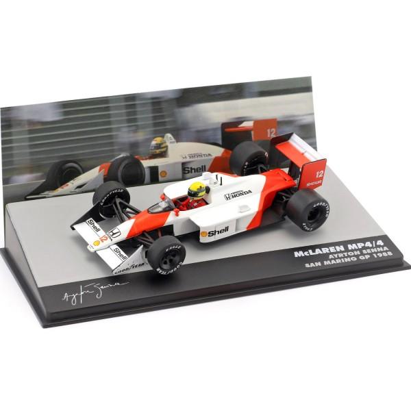 Ayrton Senna McLaren MP4/4 #12 Winner San Marino GP Formula 1 1988 1/43